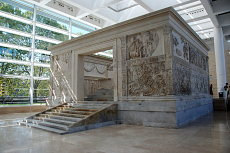 The Ara Pacis as it was