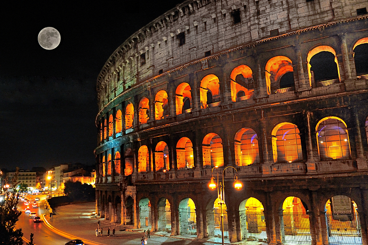 Colosseum by night colosseum tickets for Day office roma