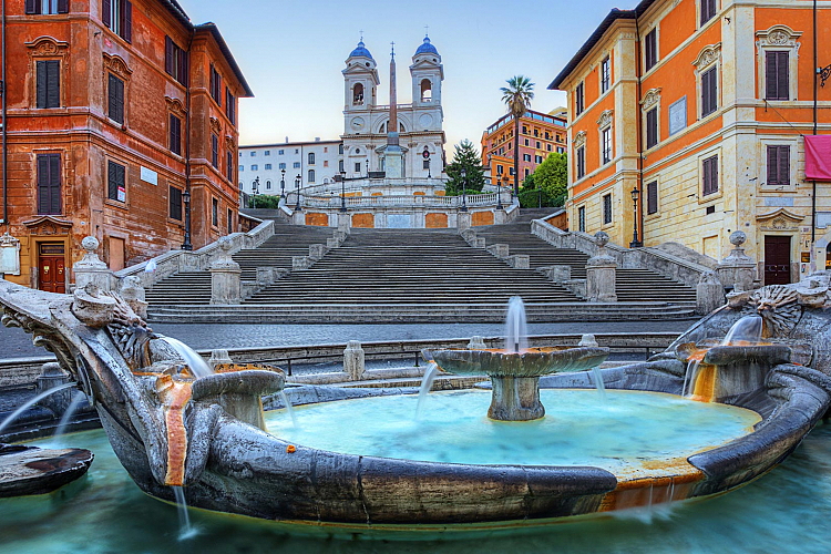 spanish steps rome attraction